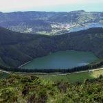 Isola Sao Miguel Azzorre - Sete Cidades Caldera, Lago di Santiago