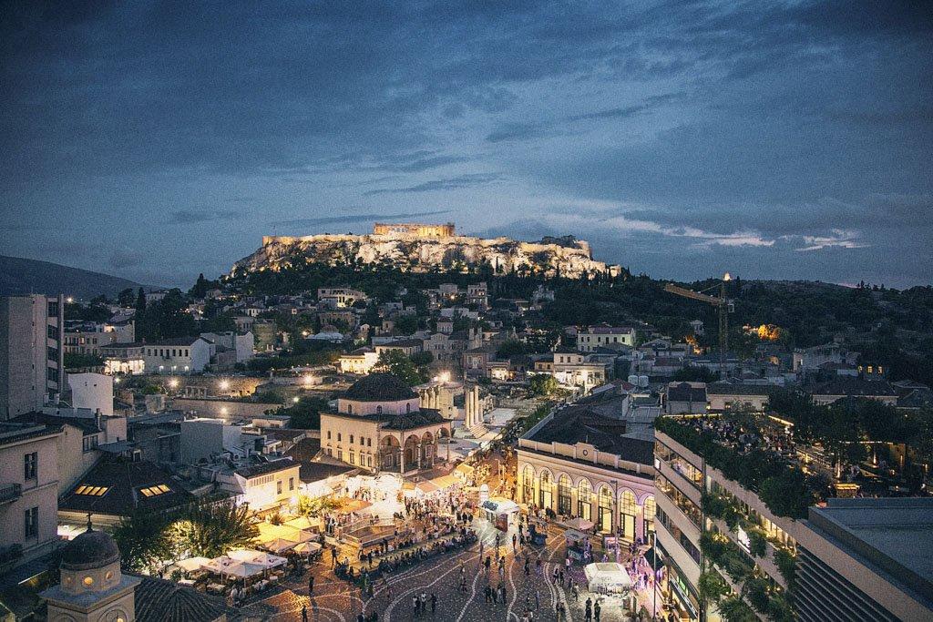 Atene e Chios in aereo