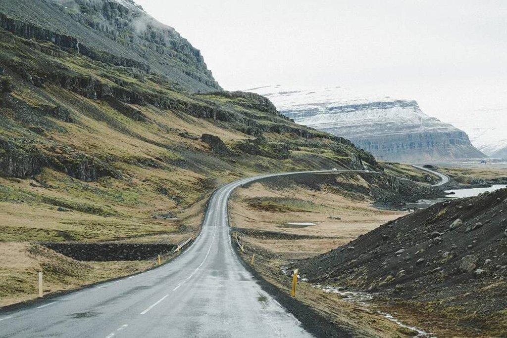 Islanda percorso nell'isola di Ghiaccio