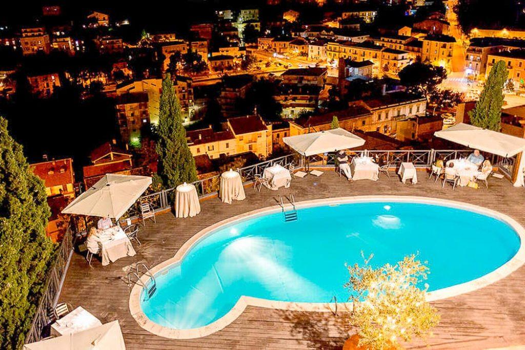 Notte in castello medievale alle porte di Pescara