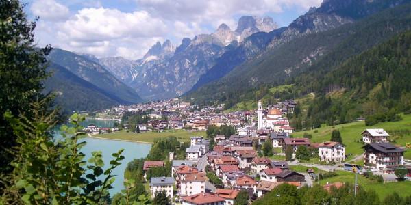 Percorso attraverso le Dolomiti e il Tirolo italiano